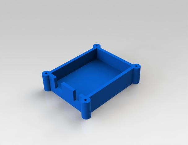 Arduino uno protective case solidworks d cad model