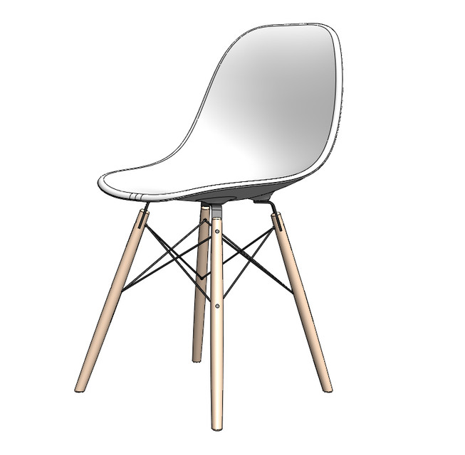 Eams stuhl perfect eames stuhl replika new eames chair for Designer couchtisch replica