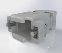 Capa plastica conector DB9