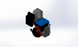 Briggs & Straton engine 10Hp OTV intek