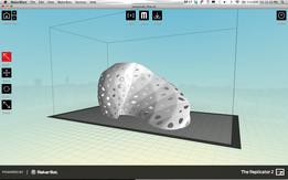 parametric   art :: flow lampshade for 3D printing