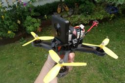 360 Camera Mount for OpenRC Mini Quad