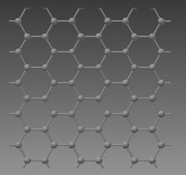 Graphene Atomic Structure