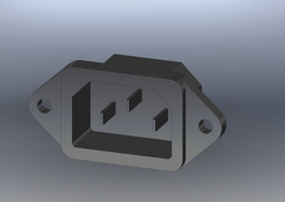 connector CEE22 (panel mount)