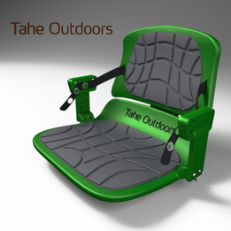Tahe Outdoors comfortable and adjustable seat