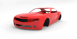 Camaro Concept 2007 Body