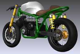 cb666 Motorbike
