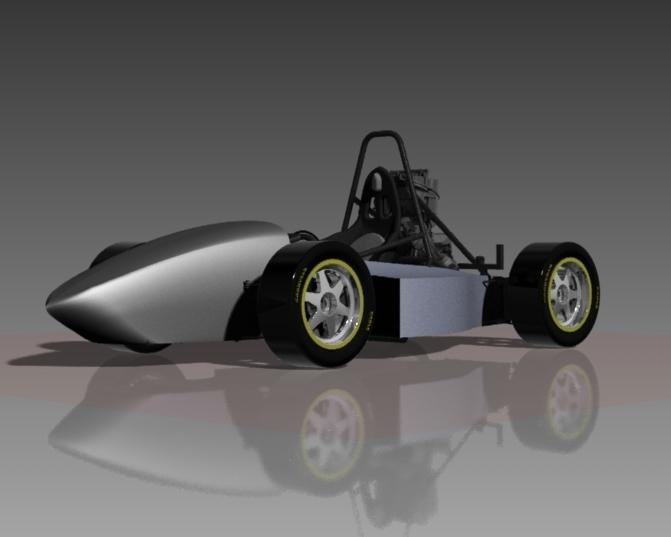 F S A E  Race Car | 3D CAD Model Library | GrabCAD