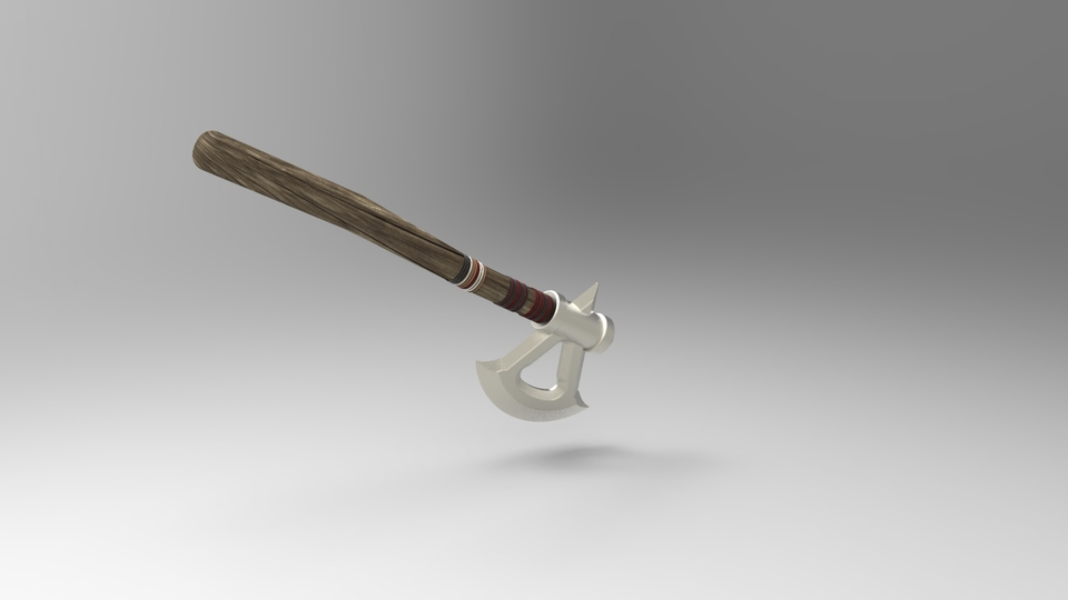 Assassin S Creed 3 Tomahawk 3d Cad Model Library Grabcad