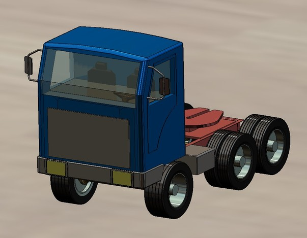Short Road Truck Cab