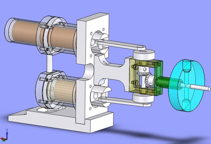 alpha stirling engine design alpha free engine image for