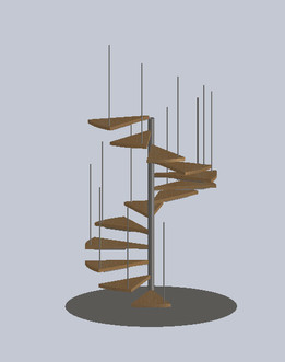 Helical Stairs