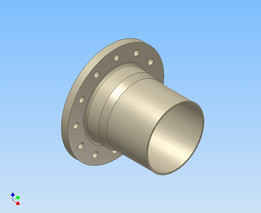 Brida AWWA C207 - AWWA C207 Flange - Parametric