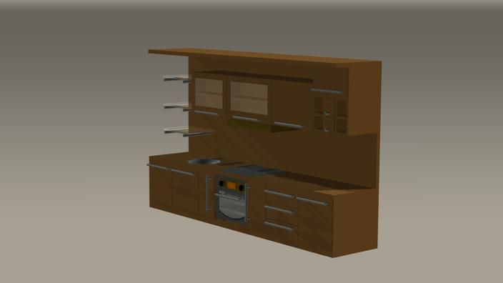 Kitchen Cabinet - STL, STEP / IGES - 3D CAD model - GrabCAD