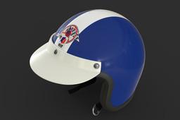 Jean Pierre Beltoise Open-Face Helmet