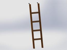 Ladder for bunk bed