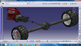 motor and suspention