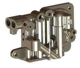 Metering block Carburetor Holley