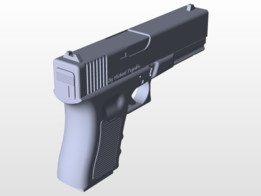 glock - Recent models | 3D CAD Model Collection | GrabCAD