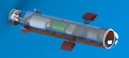 Submarine drone model