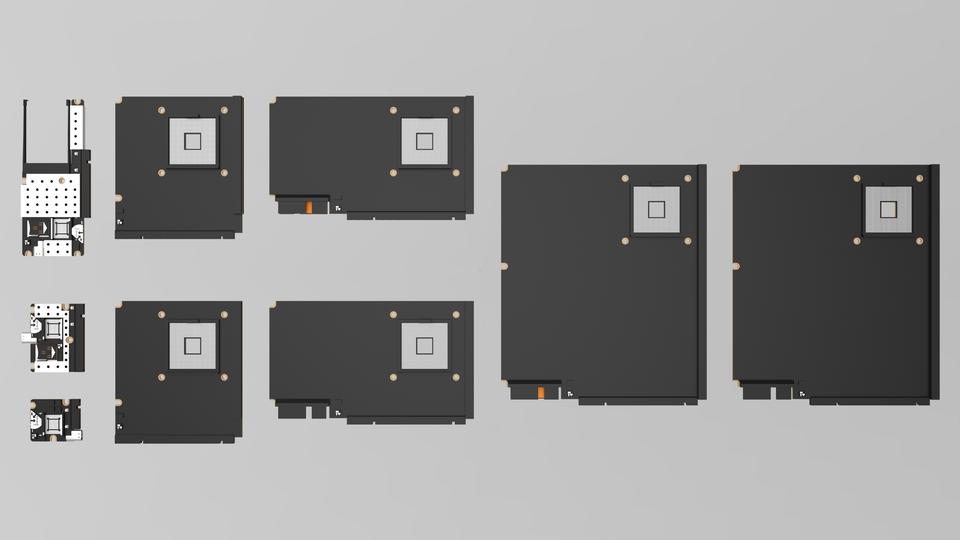 Custom motherboards form factor idea stl sketchup 3d for Stl file sketchup