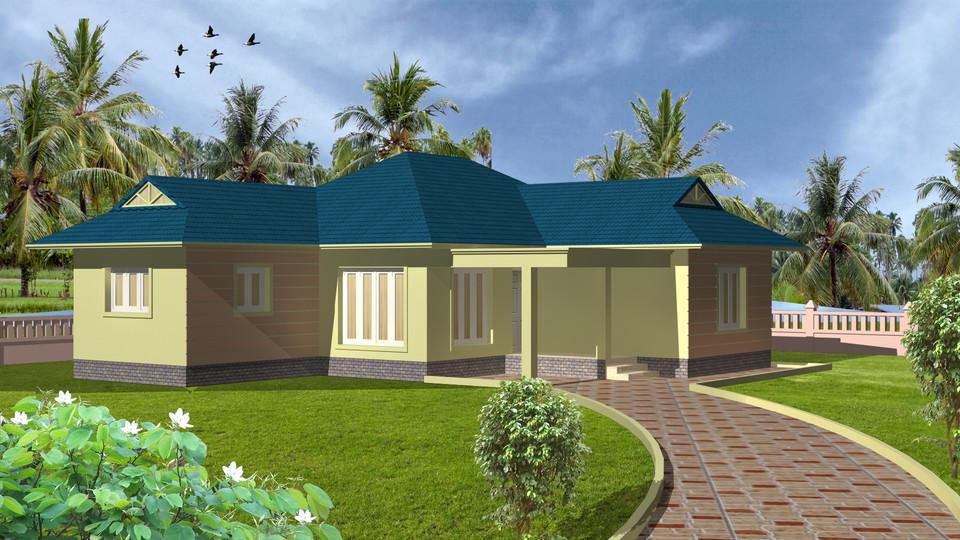 3D House | 3D CAD Model Library | GrabCAD