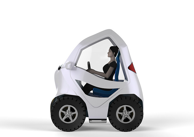 Electric City Car... for a GIRL