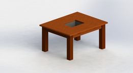 cold drinks wooden table