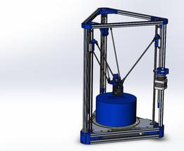 KOSSEL (Ver.bettak) - delta robot 3D printer