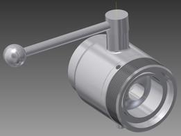 ball valve DN50 CAE334