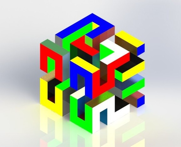 how to solve a 3x4x5 cuboid