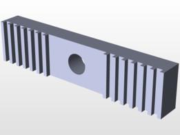 GT2 belt clamp