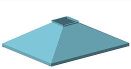 Зонт вентиляционный сварочного стола (the umbrella ventilation of the welding table)