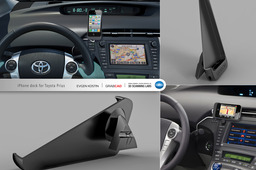 iPhone dock for Toyota Prius