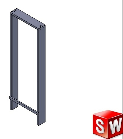 door frame | 3D CAD Model Library | GrabCAD