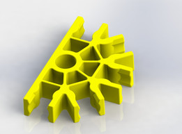 Knex Connector - Yellow