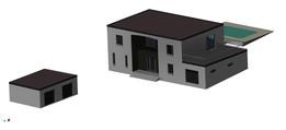 Villa flat roof