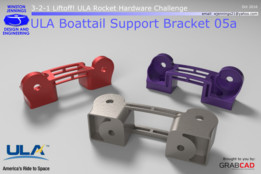 ULA Boattail Support Bracket 05a