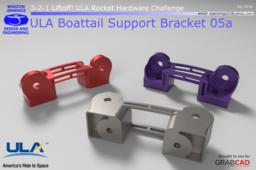 ULA Boattail Support Bracket 05a