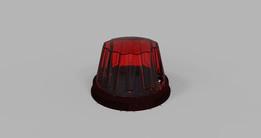 2 Lanterna Vermelha Caminhão - Red Lamp Truck