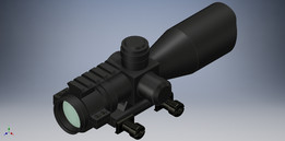 3-9x40 Tactical Scope