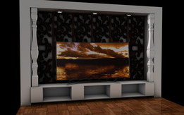 TV UNIT WITH NICHE APPLICATION 3