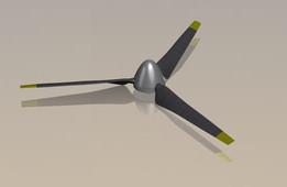3-blade propeller