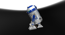 R2D2 with individual part drawing and description