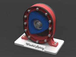 Wankel Rotary Engine Display Model