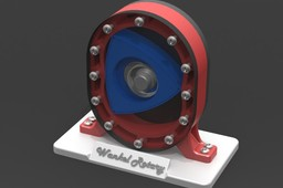 Wankel Rotary Engine Display Model