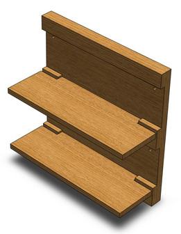 Keyed Shelf
