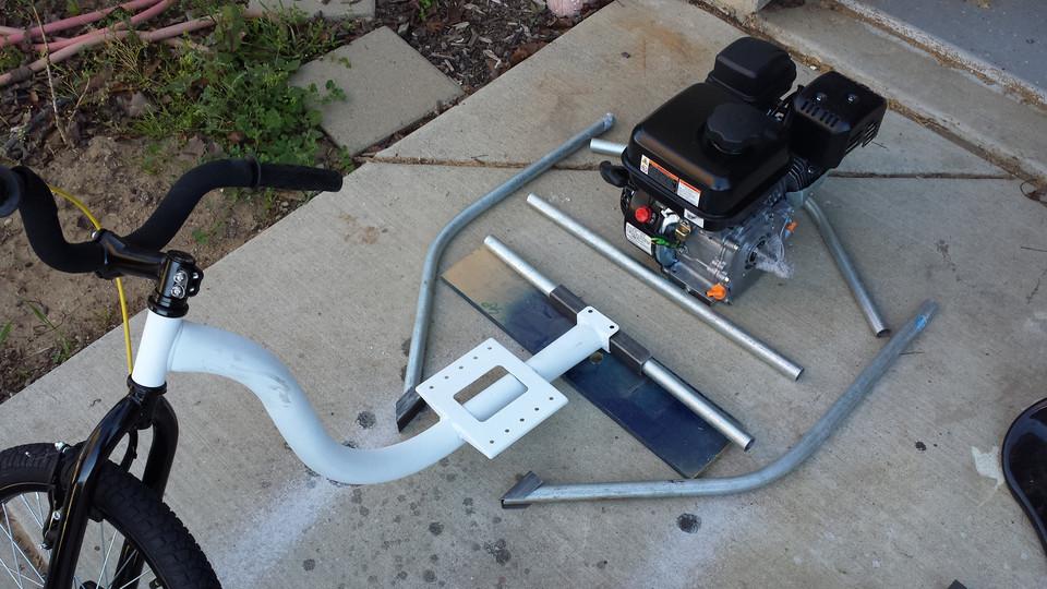 motorized - Motorized Drift Trike Frame