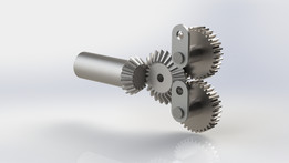Bevel and Spur gears