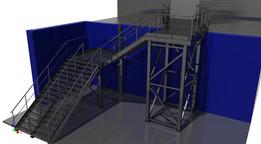 Steel construction shopping centrum